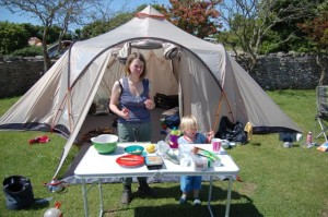 cath-cooking-outside-tent