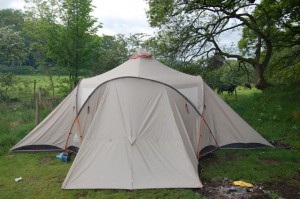 Vaude badawi tent in Lake District