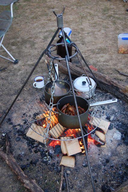 cooking tripod