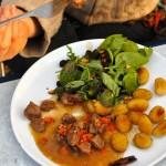 Watercress and pine nut salad