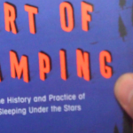 Finished copy of The Art of Camping by Matthew De Abaitua