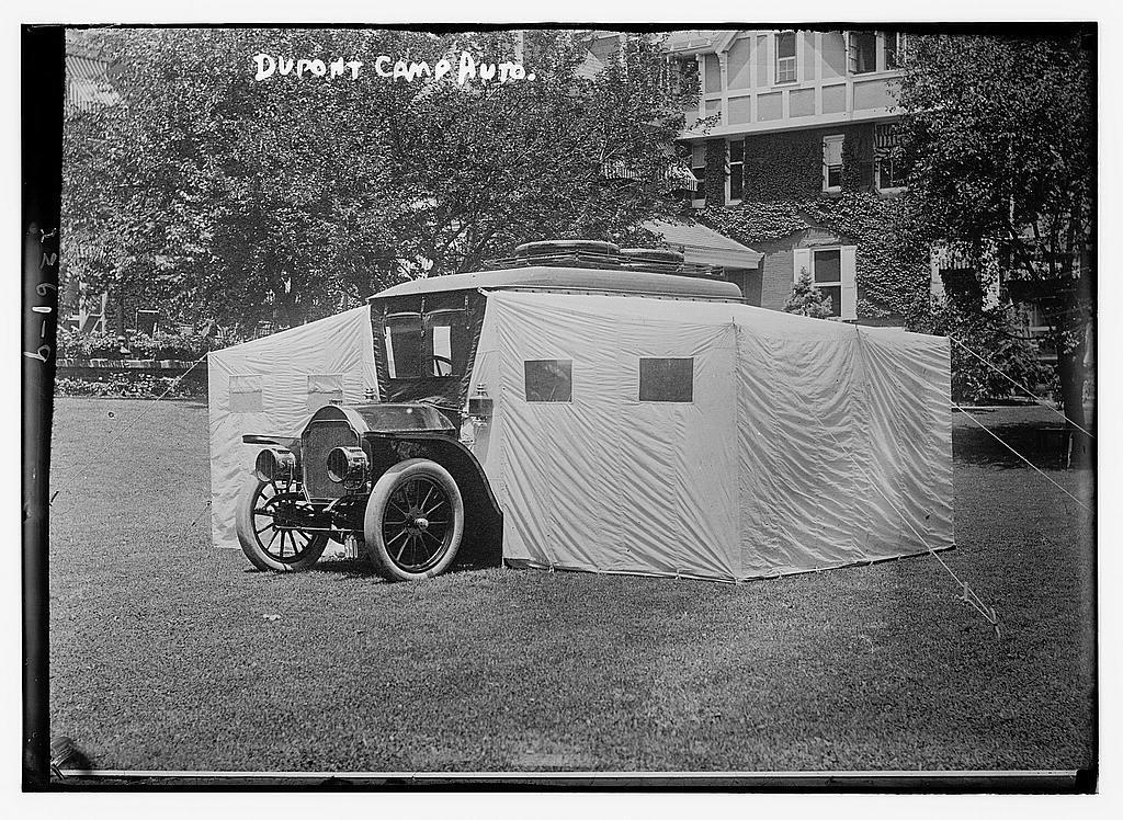 Coleman Du Pont's camping auto car