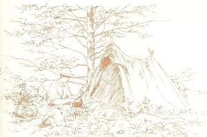 Edwardian camping in Manesty Woods from Tales of A Tent