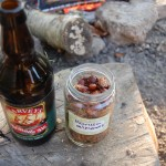 Harveys and Harissa nuts around the campfire